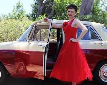 Vintage Style Reproduction 50's Party Dress
