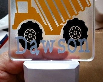 Dump Truck Night Light