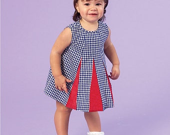 McCall's Pattern 7177 Infants' Dresses and Panties