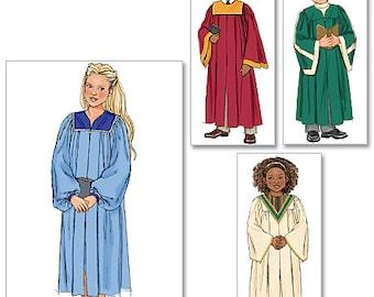 Butterick Pattern B4542 Children's / Boys' / Girls' Robe and Collar