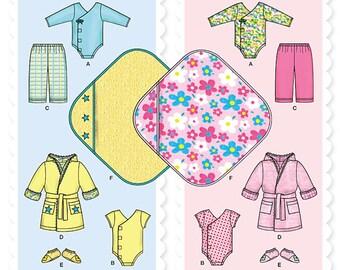 Simplicity Pattern 1042 Babies' Layette