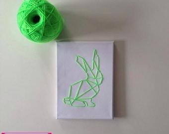 Green rabbit
