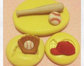 Baseball Mold set Silicone