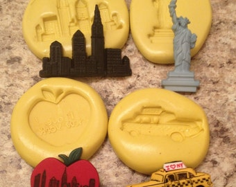 New York Mold Set Silicone