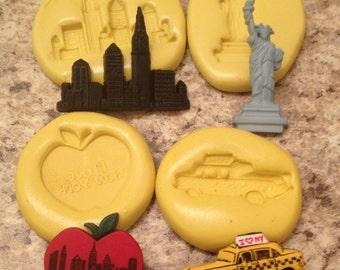New York Mold Set Silicone