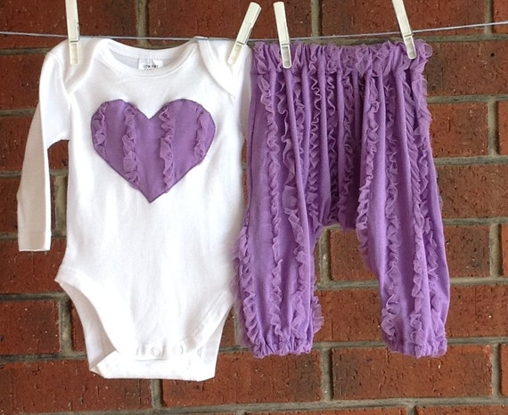 Baby Girl Purple Outfits 86