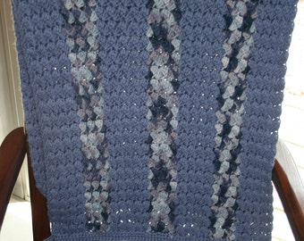 All-Cotton Prayer Shawl / Friendship Shawl / Comfort Shawl