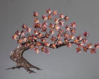 Windswept Maple Tree
