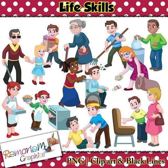Life Skills Clip Art