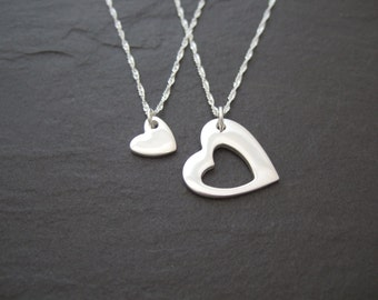 Heart Duo necklaces