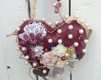 CRUSH...a handcrafted heart you will LOVE!