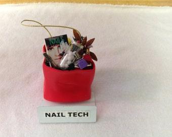 Nail Tech Ornament