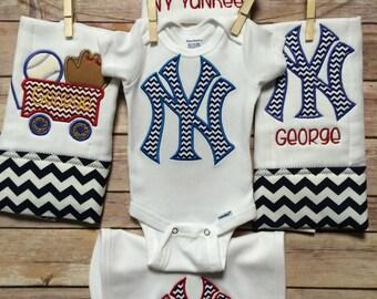 Yankees baby shower
