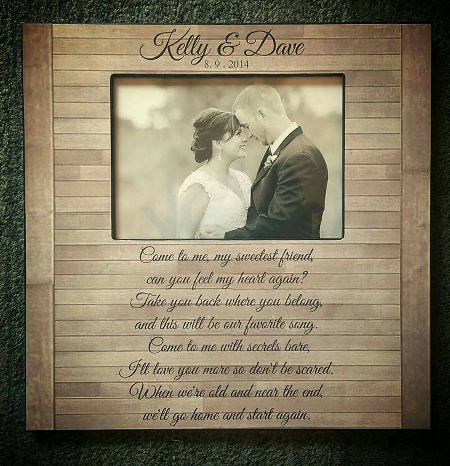 All About Personalized Wedding Gifts Captain Zoom Wedding Song