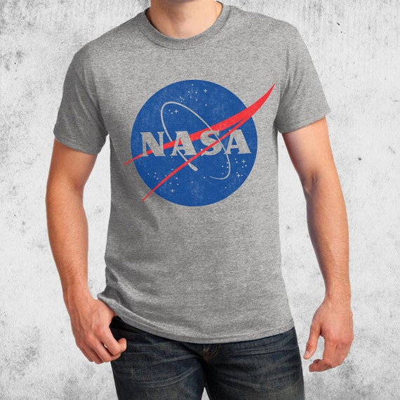 NASA Vintage Insignia Adult T-shirts Space science School