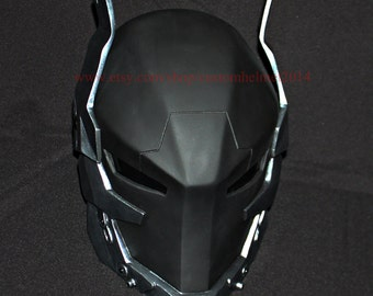 Finish & Ready to Ship 1:1 Wearable Custom Halloween Costume, Batman Arkham Knight Helmet DJ Mask, Red Hood Mask Cosplay, Batman mask MA202