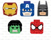 Printable Birthday Game - Lego Superhero Mask