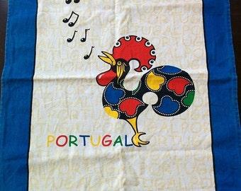 Portugal Souvenir Tea Towel