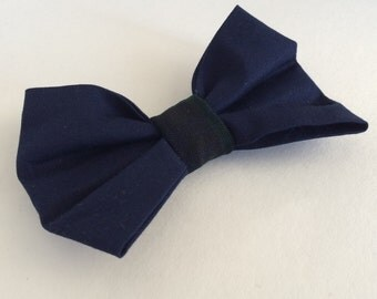 School Uniform Plaid Hair Bow- Made to Order including Plaid of Your Choice!