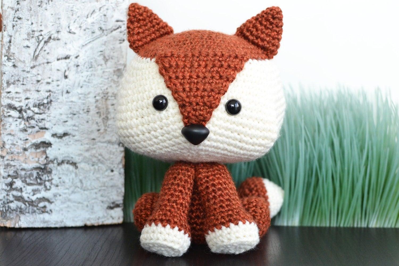 Fox Crochet Pattern. Felix The Fox Amigurumi Crochet Pattern.