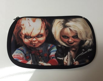 Chucky & Tiffany Cosmetic Pouch