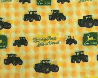 John Deere Printed Fabric