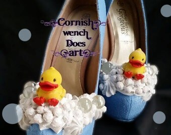 CWDA Bespoke Custom Made 'Bubble Bath Heels'