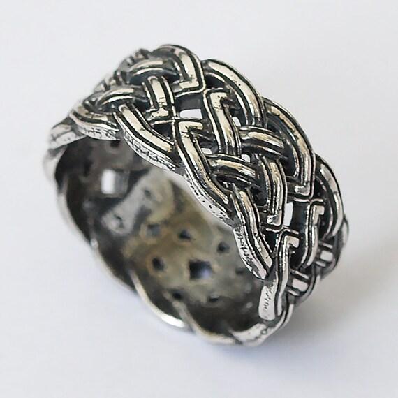 celtic knot ring knot ring celtic ring viking ring viking