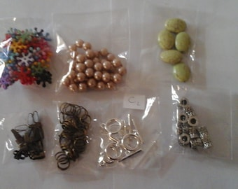 lot 7-piece jewelry miscellaneous (c2)