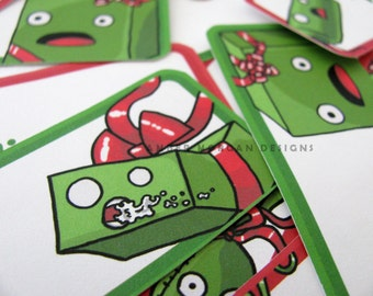 Crazy Gifts Christmas Gift Tag Stickers Gift Labels Present Tags Funny Christmas Holiday Tags Gift Marker Large Label