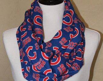 Chicago Cubs Infinity Scarf