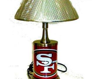 San Francisco 49ers lamp