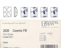 Swarovski 2520 14x10 crystal Cosmic stone.  Price is for 5 stones.