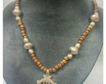 Ethiopian Coptic Cross Necklace Tribal Unique