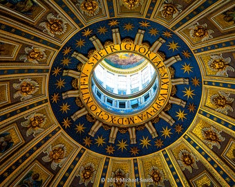 The Dome, St Peters Basilica, Vatican City, Italy