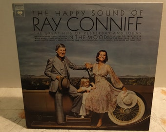 Ray Conniff - The Happy Sound Of Ray Conniff  1974 ( LP, Album, Vinyl Record ) Jazz - Easy Listening Music