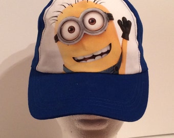 Minion Blue Kids Baseball Cap Hat