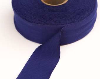 Blue Violet Bias Tape Knit Jersey 1.5 inches wide x 5 yards