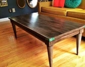 Upcycled Mid Century coffee table