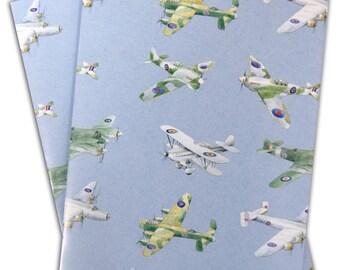 Plane, aeroplane, airplane wrapping paper