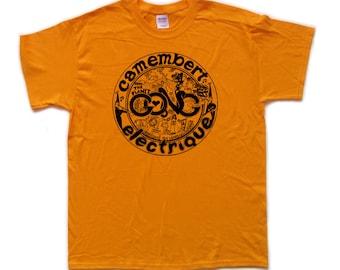 GONG - CAMEMBERT ELECTRIQUE screen printed T Shirt