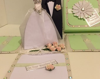 Wedding Box Exploding Card
