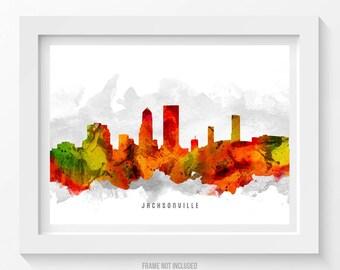 Jacksonville Florida Skyline Poster, Jacksonville Cityscape, Jacksonville Print, Jacksonville Decor, Home Decor, Gift Idea 15