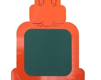 HIPPO BLACKBOARD MAGNETIC - orange