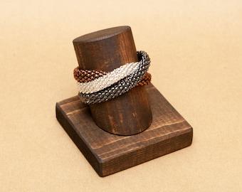 Vertical Angled Bracelet Display Watch Display / Bracelet Stand / Watch Stand / Jewelry Holder / Watch Holder / BR011