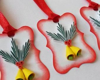 Christmas Gift Tags - Christmas Tags - Merry Christmas tags - Set of 7