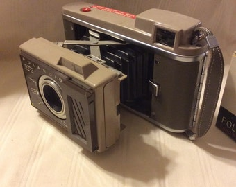Vintage Polaroid J33 Camera and Case