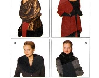 Butterick 5862 Glamorous Evening Accessories 1998 / UNCUT