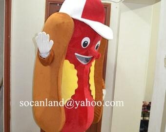 Hot Dog Mascot Costume,Hot Dog Cosplay Costume,Hot Dog Cosplay,Hot Dog Clothing,Hot Dog Party Costume,Hot Dog Birthday Costume,Hot Dog Adult