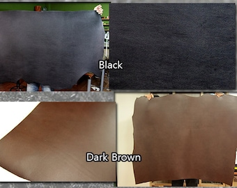 Italian genuine vegetable leather, 6in X 12in or 12in X 12in Size, Vegetable tanned leather hides Leather crafting MLT-P00000LV